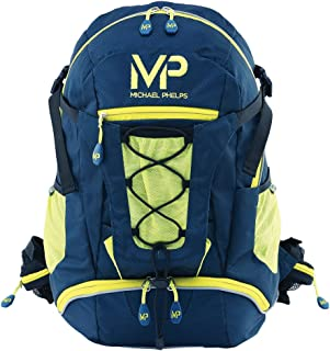 MP Michael Phelps Unisex's Team Back Pack, Navy/Neon, One Size