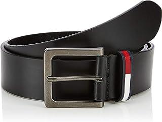 تومي هيلفغر حزام جلد للرجال ، اسود ، مقاس 95 سم