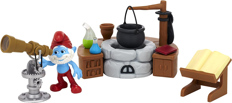 Papa Smurf's Lab Gift Set  Smurfs Movie Adventure Theme Pack Series  1