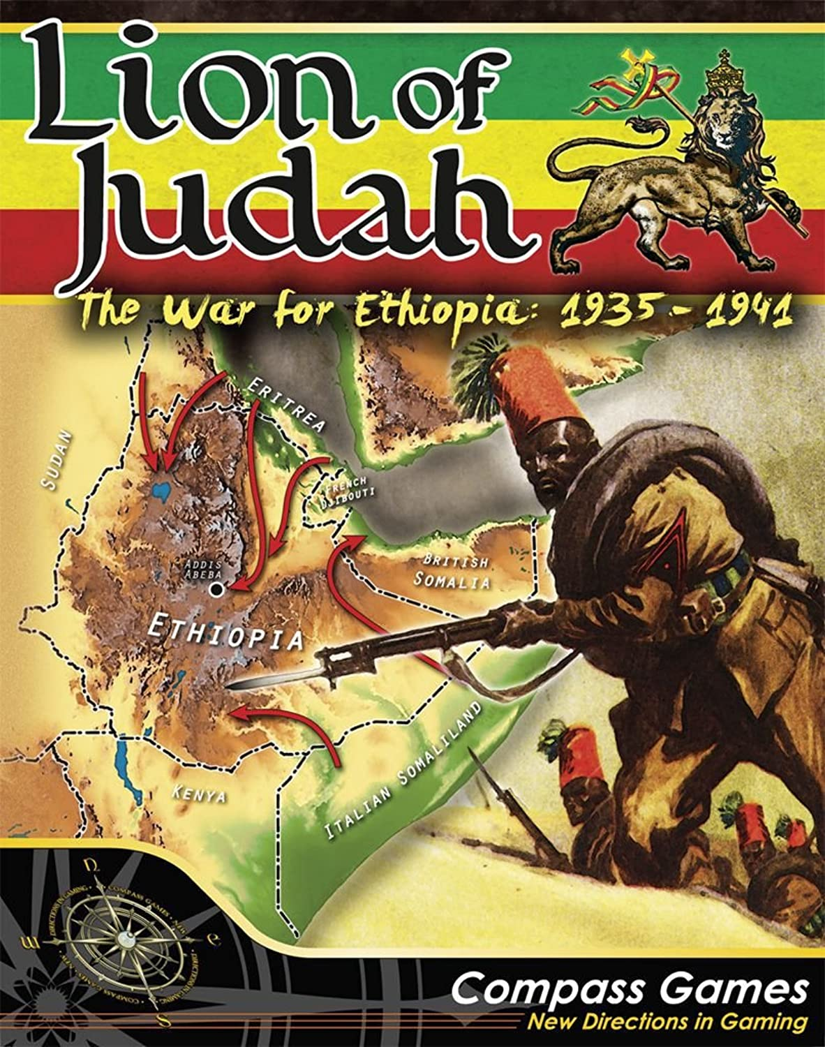 CPS  Lion of Judah, the War for Ethiopia, 19351941, Boardgame