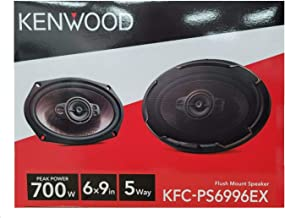 $79 » Kenwood KFC-PS6996EX Performance 6x9 INCH 5-Way 700W Car Audio Speakers