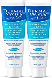 Sponsored Ad - Dermal Therapy Hand Elbow Knee Cream – Hydrating Treatment Relieves Dry, Cracked, Itchy Skin Resulting from...