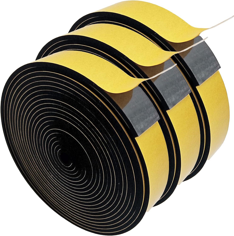 "Birllaid Foam Tape Single Sided Strip Translated Adhesive 1""W CR 2021"