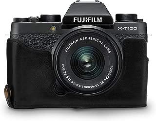 MegaGear MG1494 Fujifilm X-T100 Hakiki Deri Kamera Çantası