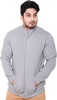 EASY 2 WEAR ® Mens Jackets Grey - Without Hood (Size S to 4XL)