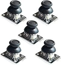 FICBOX 5Pcs Dual-axis XY Joystick Module for Arduino Joystick Module