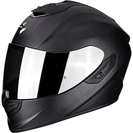 Scorpion Motorradhelm 14 261 10 07 Exo 1400 Air Carbon Matt Schwarz Xxl 63 64 Auto
