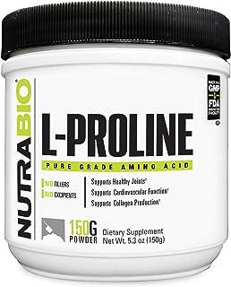 NutraBio L-Proline Supplement (150 Grams of Powder)