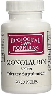 Ecological Formulas - Monolaurin 300 mg 90 Caps