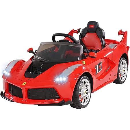 Actionbikes Motors Ferrari Laferrari Lizenziert 2 X 25 Watt Motor Reifen Mit Weichgummiring Fernbedienung Ledersitz Amazon De Spielzeug