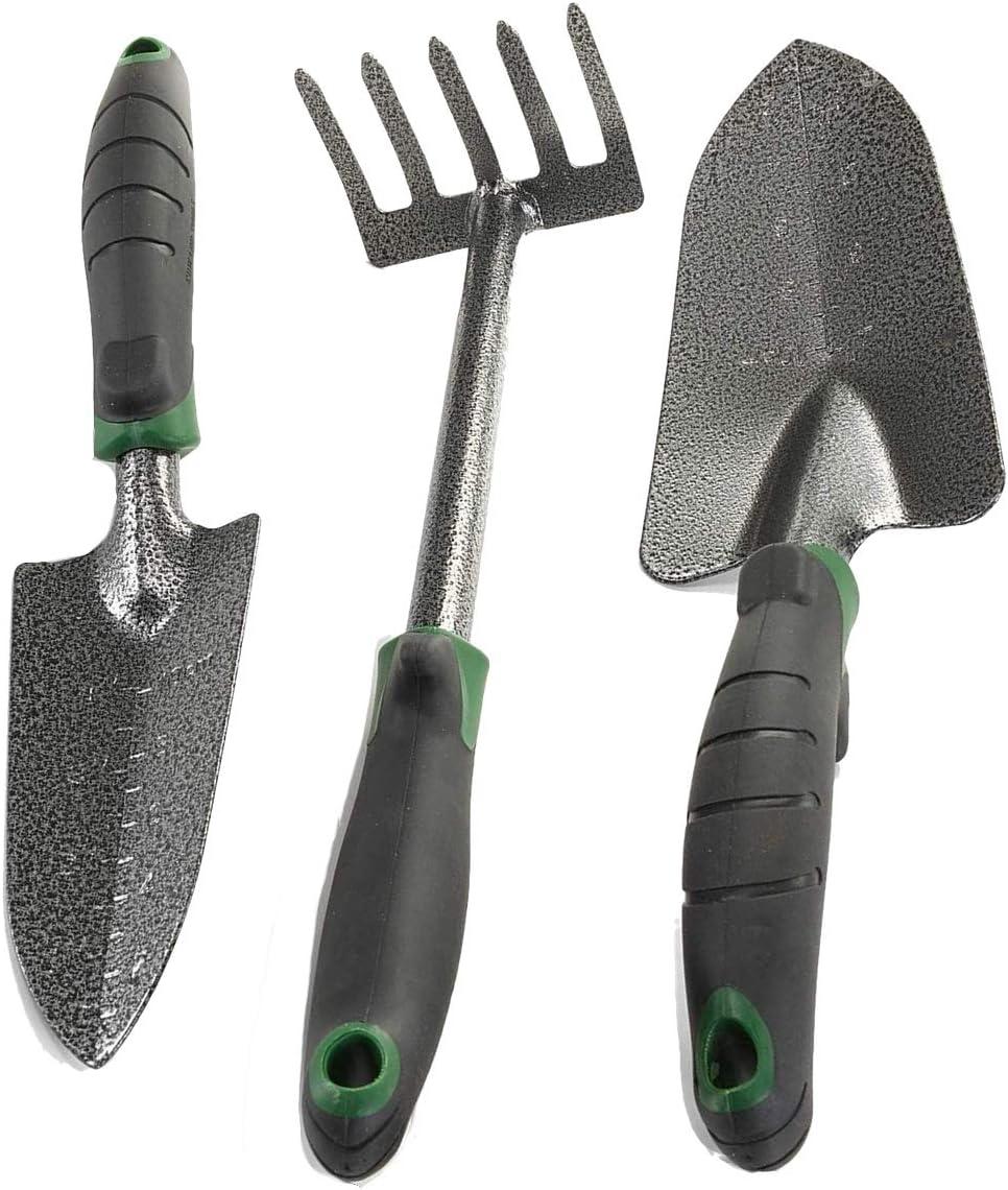 Edward Tools Garden Tool Set - Trowel Duty T Steel Heavy Carbon Limited time sale Ranking TOP19