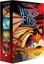 Wings of Fire Graphix Box Set (Books 1-4): The Dragonet Prophecy / the Lost Heir / the Hidden Kingdom / the Dark Secret