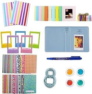 9 25 26 50s 70 90 Polaroid Photo Film Vert Mini album photo 64 pochettes pour Fujifilm Instax Mini 7s 8 8 Uministyle