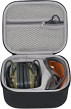 co2crea Hard Travel Case for Howard Leight Impact Sport OD Electric Earmuff and Genesis Sharp-Shooter Safety Eyewear Glasses