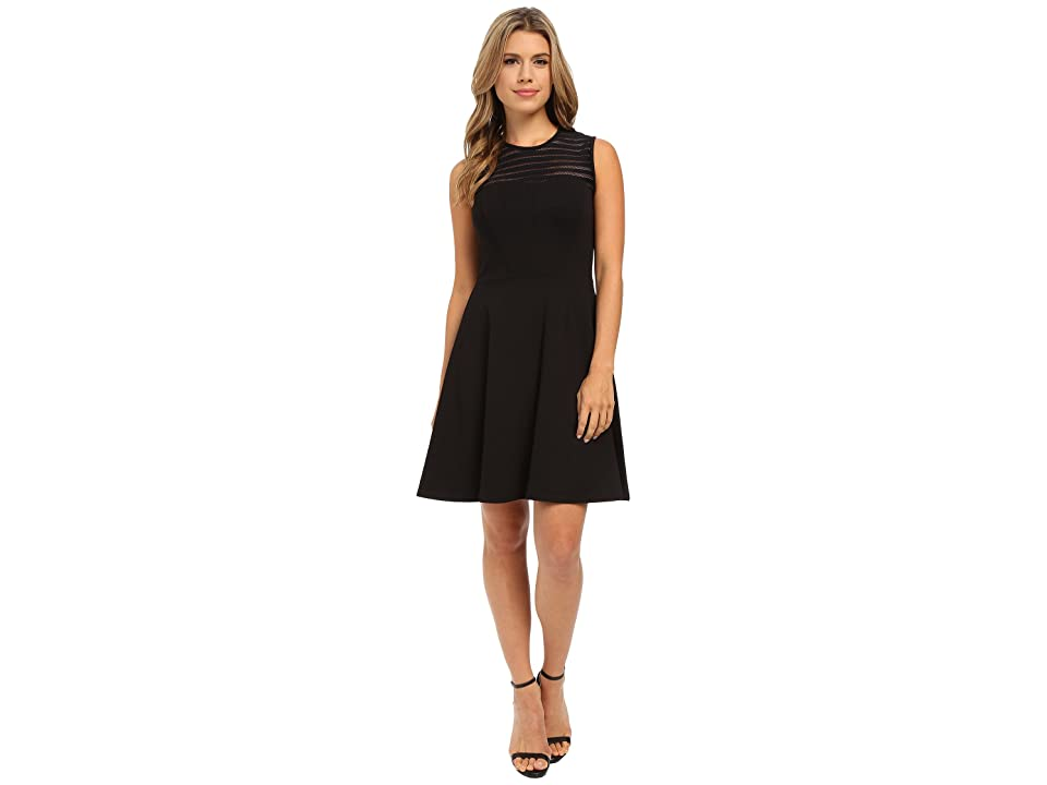 Shoshanna Calvin Dress (Jet) Women