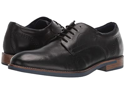 Steve Madden Tailspin (Black Leather) Men
