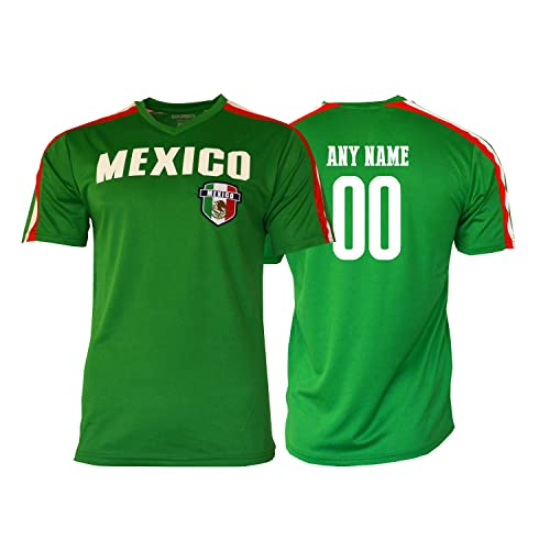 14fe6b64b Pana Mexico Soccer Jersey Flag Mexican Adult Training Custom Name and Number