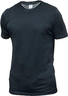 Men's Short Sleeve T, New Zealand Merino, Black