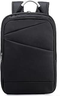 "Weekend Shopper 15.6"" Business Travel Backpack College Bookbag Slim Laptop Backpack for Men and Women Black"