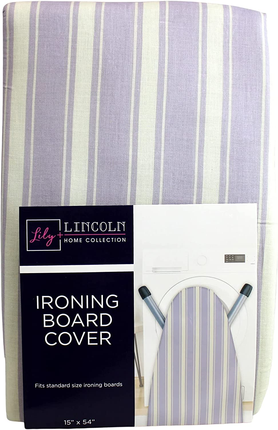 Dependable Industries inc. Essentials Printed Ironing Board Cover and Pad 15