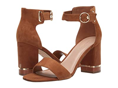 Tommy Hilfiger Satine (Medium Brown Suede) Women