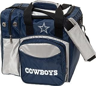 KR Strikeforce Dallas Cowboys Single Bowling Bag, Multicolor