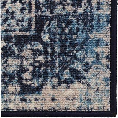 Rugsmith Porto Tile Area Rug, Nylon, Multicolor, 3' x 5'
