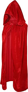 Crizcape Kids Costumes Capes Cloak with Hood for Halloween Party 3-18 Years