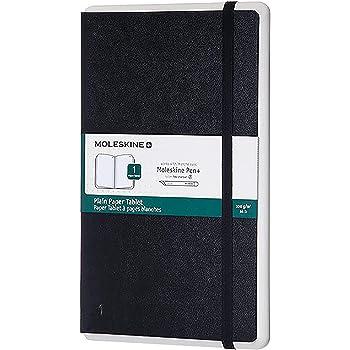 Moleskine Notebook Paper Tablet, Taccuino Digitale con Pagine Bianche e Copertina Rigida, Notebook Adatto all'Uso con Pen Moleskine+, Colore Nero, Dimensione Large 13 x 21 cm