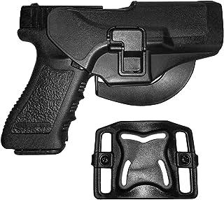 comprar comparacion IMAGE arma de la caza Titular táctico rápida Funda Right Hand Paddle y clip cinturón se ajusta para Glock 17/22/31 Negro