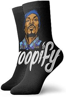 ASKSWF, Calcetines Snoop Dogg Calcetines con diseño de Novedad Calcetines de Vestir Transpirables Regalo para Hombres Mujeres Niños