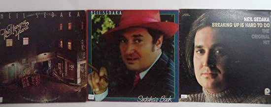 Neil Sedaka Lot of 3 Vinyl Record Albums The Hungry Years and more