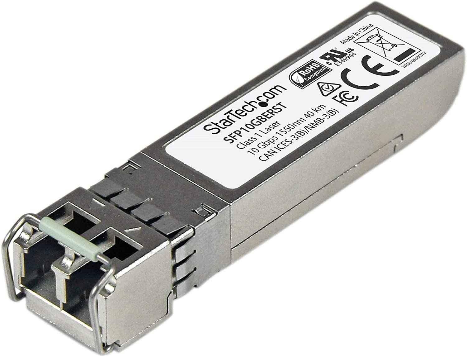 StarTech.com MSA Uncoded Easy-to-use Compatible SFP+ Module - 1 10GBASE-ER Bombing free shipping