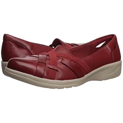 Clarks Cheyn Creek (Red Leather) Women