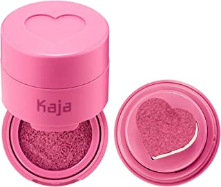 KAJA Cheeky Stamp | Blendable Blush | 04 Feisty - cool raspberry | Cruelty-free, Vegan, Paraben-free, Sulfate-free, Phthal...