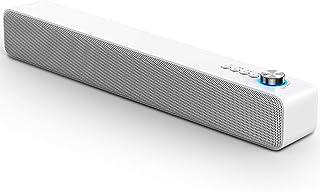 LENRUE Computer Speaker(White)