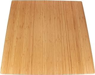 BambooMN - Bamboo Burner Cover Cutting Board, New Vertical Cut, Large, Square - Flat (20