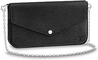 Pochette Felicie Epi Leather Purse Handbags Bags