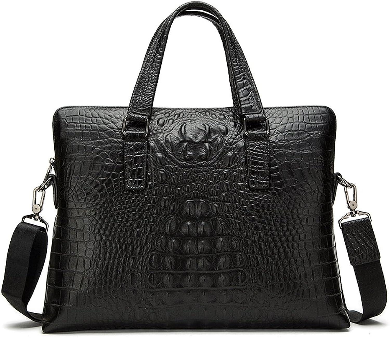 Sucastle Herren Leder Umhängetasche Schultertasche Kuriertasche Messenger Bag Große Kapazität Vintage Design, 1 B07DPPSPQX