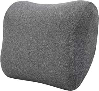 AmazonBasics Memory Foam Neck Support Pillow - Gray