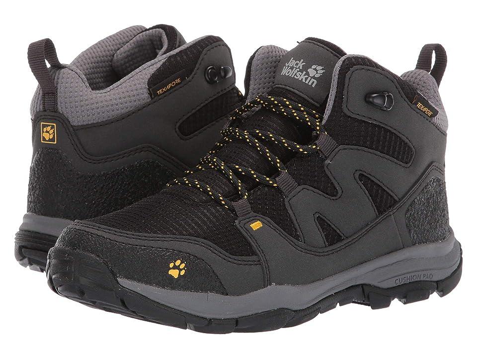 Jack Wolfskin Kids Mountain Attack 3 Texapore Mid (Toddler/Little Kid/Big Kid) (Burly Yellow XT) Boys Shoes