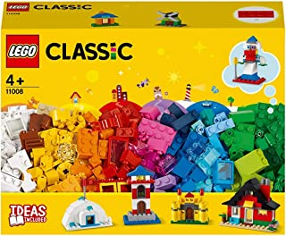 LEGO Classic 11008 Bricks and Houses Building Kit (270 Pieces)