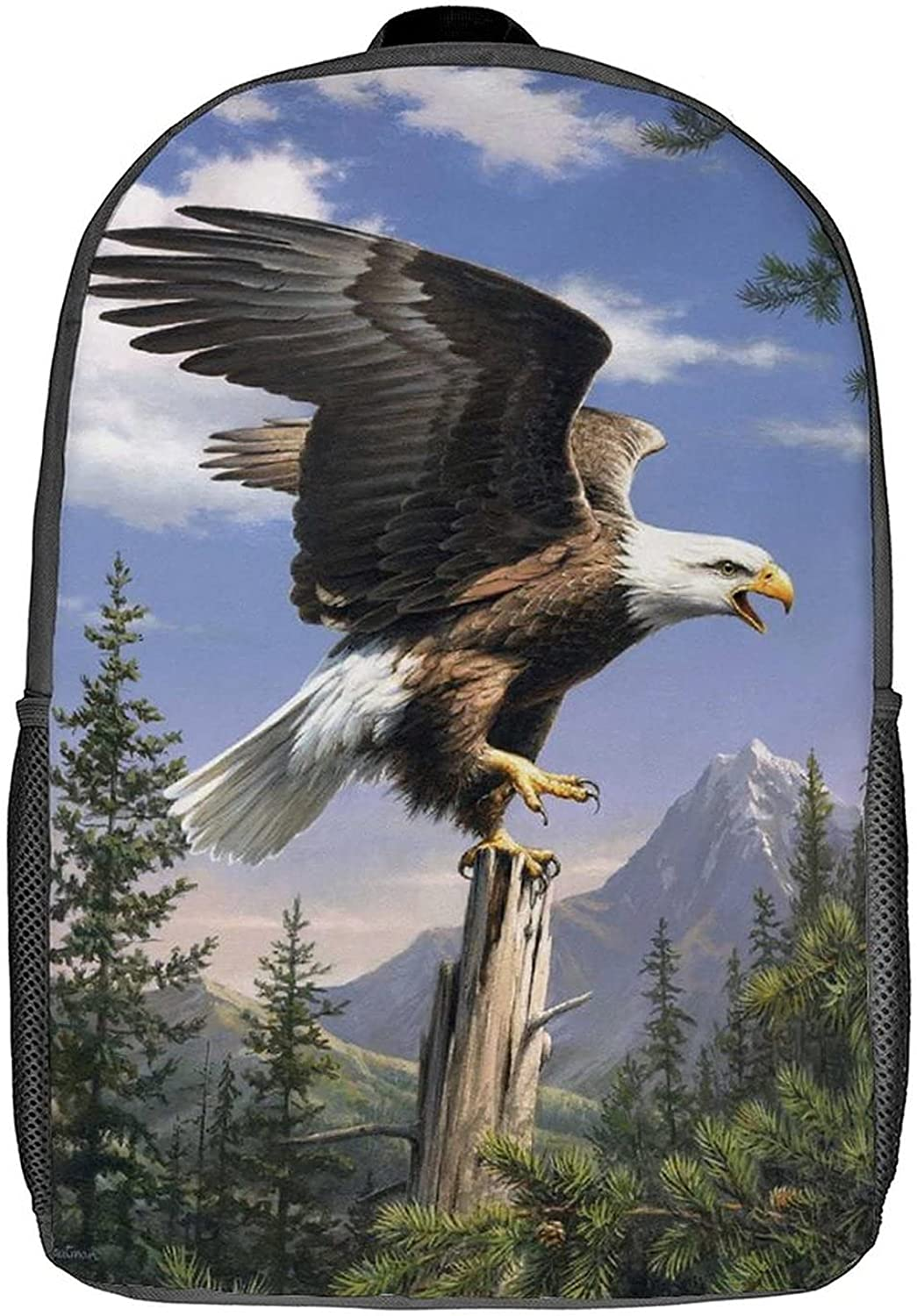 Classic Backpack Eagle Custom Laptop Simple 17inch Spring new work School Small