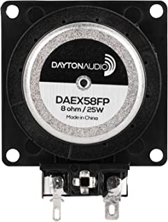 Dayton Audio DAEX58FP Flat Pack 58mm 25W 8-Ohm Exciter (Black)