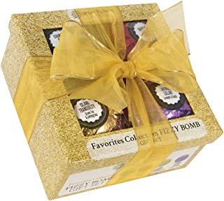 Ginger Lily Farms Botanicals Favorites Collection Fizzy Bomb Gift Set, 3 Ounces Each, 4-Count
