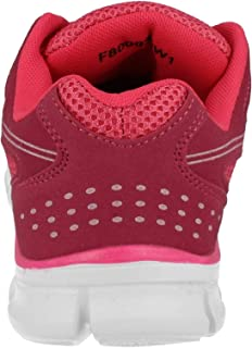 Spot On Womens/Ladies Lace Up Casual Trainers With Mesh Panels
