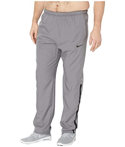 Nike Big Tall Dry Pants Team Woven (Gunsmoke/Black/Black) Men