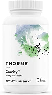 Thorne Research - Carnityl - Acetyl-L-Carnitine (ALC) for Brain and Nerve Support - 60 Capsules