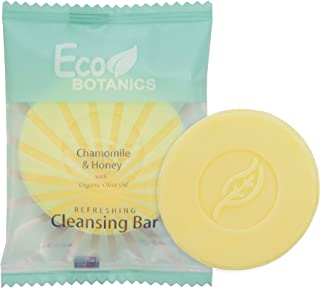 Eco Botanics Travel-Size Hotel Cleansing Bar Soap, .5 oz (Case of 1000)