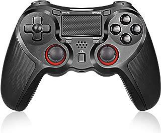 PS4 ワイヤレス コントローラー PS4/PS4 Pro/Slim/PC対応 高耐久ボタン無線USB Bluetooth 接続 PS4 ゲームパッド 人間工学 二重振動